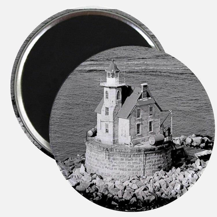 Race Rock Lighthouse Magnets