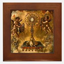 Allegory of the Eucharist Framed Tile