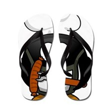 Penguin Grill Flip Flops