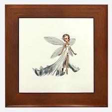 Silver Fairy Framed Tile