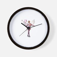 Love Fairy Wall Clock