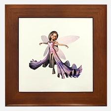 Little Purple Fairy Framed Tile