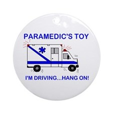 Paramedic's Toy Ornament (Round)