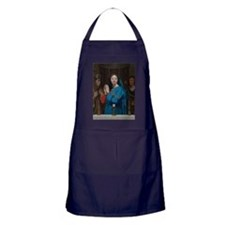 The Virgin Adoring the Host Apron (dark)