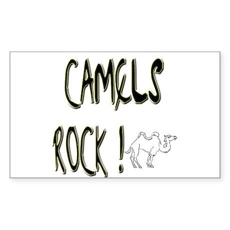 Camels Rock ! Rectangle Sticker