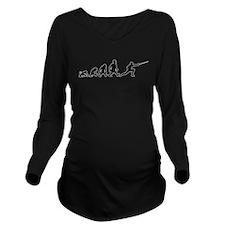 Cool Fasa Long Sleeve Maternity T-Shirt