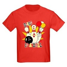 Cute Bowling Pin 6th Birthday T