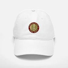 deputy fire chief brass emblem Baseball Baseball Cap