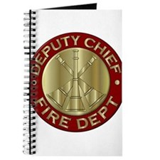 deputy fire chief brass emblem Journal