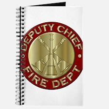deputy fire chief brass emblem Journal