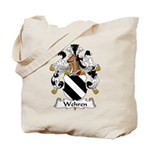 Wehren Family Crest Tote Bag