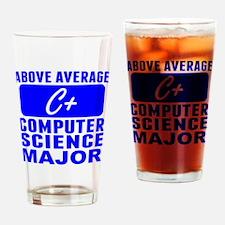 Above Average Computer Science Major Drinking Glas