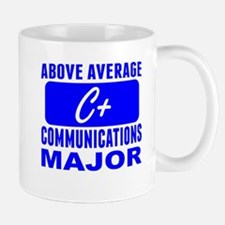 Above Average Communications Major Mugs