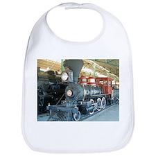 Antique train unique design Bib