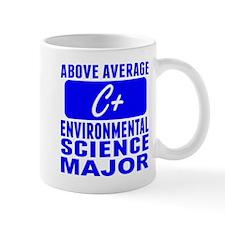 Above Average Environmental Science Major Mugs