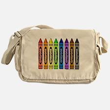 crayons Messenger Bag