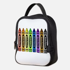 crayons Neoprene Lunch Bag