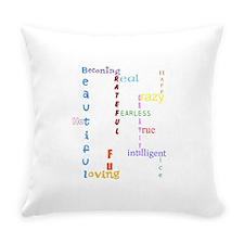 Uplifting Characteristics Everyday Pillow