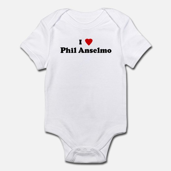 I Love Phil Anselmo Infant Bodysuit