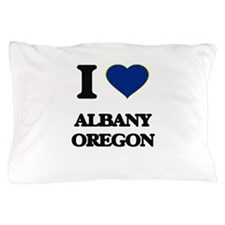 I love Albany Oregon Pillow Case
