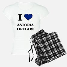 I love Astoria Oregon Pajamas