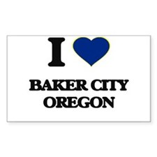 I love Baker City Oregon Decal