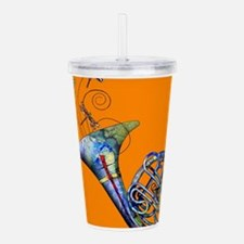 French Horn Acrylic Double-wall Tumbler