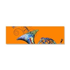 French Horn Car Magnet 10 x 3