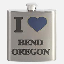 Cool Oregon love Flask
