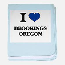 I love Brookings Oregon baby blanket