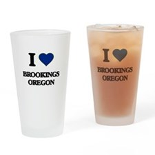 I love Brookings Oregon Drinking Glass