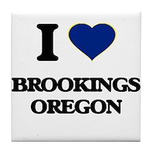 I love Brookings Oregon Tile Coaster