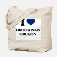 I love Brookings Oregon Tote Bag