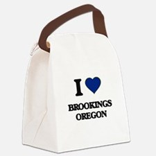 I love Brookings Oregon Canvas Lunch Bag
