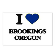 I love Brookings Oregon Postcards (Package of 8)