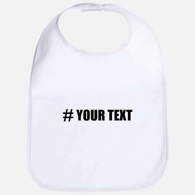 Hashtag Personalize It! Bib