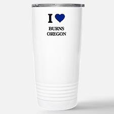I love Burns Oregon Travel Mug