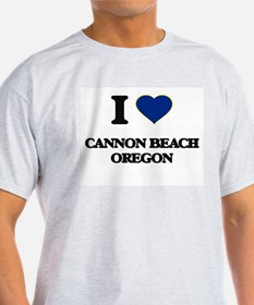 I love Cannon Beach Oregon T-Shirt