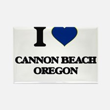I love Cannon Beach Oregon Magnets