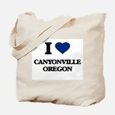 I love Canyonville Oregon Tote Bag