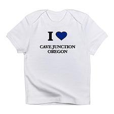 I love Cave Junction Oregon Infant T-Shirt