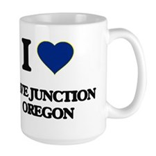 I love Cave Junction Oregon Mugs