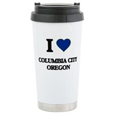 I love Columbia City Or Travel Mug