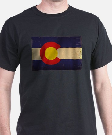 Colorado State Flag VINTAGE T-Shirt