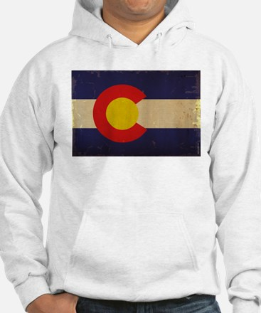 Colorado State Flag VINTAGE Jumper Hoody