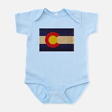 Colorado State Flag VINTAGE Infant Bodysuit