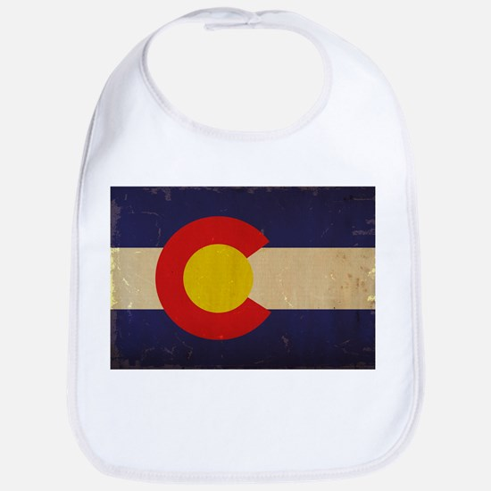 Colorado State Flag VINTAGE Bib