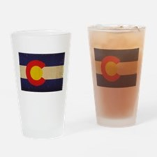 Colorado State Flag VINTAGE Drinking Glass