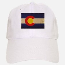 Colorado State Flag VINTAGE Baseball Baseball Cap