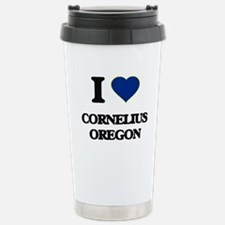 I love Cornelius Oregon Travel Mug